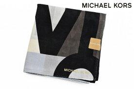 マイケルコース 大判 ハンカチ レディース 1枚 ブランド MICHAEL KORS ブラウン 茶 ロゴ デザイン 女性 婦人 【あす楽】