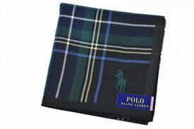 ポロ ラルフローレン ハンカチ 1枚 メンズ ブランド POLO Ralph Lauren 黒 ブラック × マルチカラー チェック 男性 紳士 【あす楽】