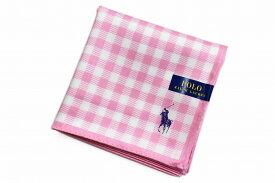 cb2f1885f764 ラルフローレン レディース ハンカチ 1枚 Ralph Lauren ピンク × ホワイト 系 ギンガムチェック  女性