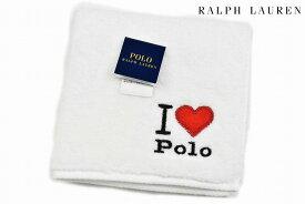 ポロ ラルフローレン タオルハンカチ 1枚 レディース ブランド POLO Ralph Lauren ホワイト ポロ刺繍 女性 婦人 ハンドタオル 【あす楽】