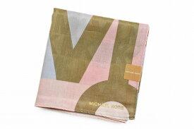 マイケルコース 大判 ハンカチ レディース 1枚 ブランド MICHAEL KORS ピンク ロゴ デザイン 女性 婦人 【あす楽】