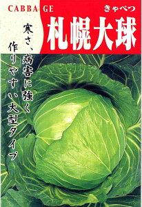 札幌大球(キャベツ)タネ
