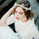 ヘッドドレス 髪飾り リーフ パール 大きい ティアラ ヘアゴム かんざし ヘアアクセサリー レディース ヘアバンド 髪…