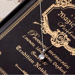 SILVER925一粒ネックレスレディースシルバーゴールドピンクゴールドペンダントCZシンプル金属アレルギー対応ジュエリーアクセサリー女性用キュービックジルコニアシルバー925