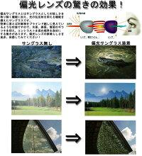 【ROBECOS】偏光サングラスRB0813ゴルフ用・ドライビング用・釣り・フィッシング用