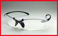夜間使用可能◆自転車通勤◆透明レンズ◆紫外線カット