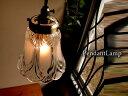 ★玄関個室キッチンカウンターに♪アンティーク調ガラスペンダントランプ013 真鍮色GC プチシャンデリア E17LED電…