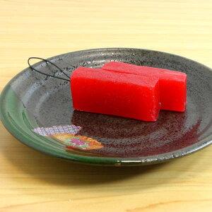 食品サンプル ストラップ&キーホルダー 刺身マグロ(2貫)