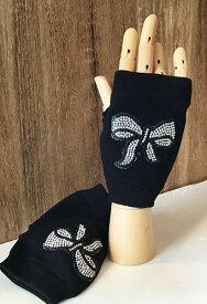 キラキラ輝く☆手袋(グローブ)  リボン 2色