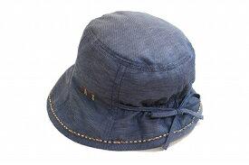 人気のシルエット DAKS ダックス D9286 ネイビー 紺 帽子 レディース 婦人 ハット 涼しい帽子 紫外線対策 日除け UVケア 小つば 旅行 アウトドア ファッション カジュアル ネット通販 日本製 春夏