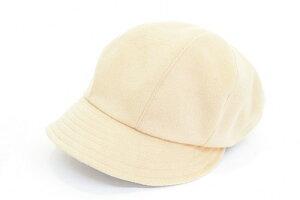 カジュアルでかぶりやすい♪ milsa ミルサ 帽子 キャスケット レディース 361202 ベージュ 婦人 ハット ファッション カジュアル アウトドア 防寒対策 旅行 運動会 サイズ調節 洗濯可 ネット通
