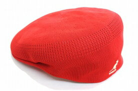 抜群のかぶり心地 KANGOL カンゴール ハンチング 169001 レッド 赤 帽子 メンズ 紳士 レディース 婦人 男女兼用 ユニセックス 504型 ベントエア メッシュ ファッション カジュアル スポーティー ゴルフ UVケア 日よけ 紫外線対策 ネット通販 春夏