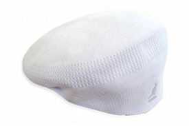 抜群のかぶり心地 KANGOL カンゴール ハンチング 169001 ホワイト 白 帽子 メンズ 紳士 レディース 婦人 男女兼用 ユニセックス 504型 ベントエア メッシュ ファッション カジュアル スポーティー ゴルフ UVケア 日よけ 紫外線対策 ネット通販 春夏