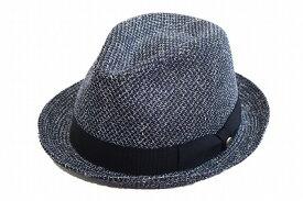 カジュアル・フォーマルにも♪ DAKS ダックス 中折ハット D1601 ネイビー 紺 帽子 メンズ 紳士 ハット マニッシュ 中折 ファッション オシャレ シンプル カジュアル 上品 UVケア 日除け 紫外線対策 サイズ調節 送料無料 日本製 ネット通販 春夏