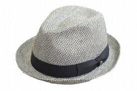 カジュアル・フォーマルにも♪ DAKS ダックス 中折ハット D1601 グレー 帽子 メンズ 紳士 ハット マニッシュ 中折 ファッション オシャレ シンプル カジュアル 上品 UVケア 日除け 紫外線対策 サイズ調節 送料無料 日本製 ネット通販 春夏