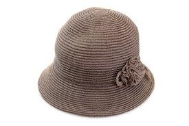 【希望者オマケ付き】 ハット 17500 ブラウン 茶 レディース 婦人 帽子 メッシュ サイズ調節可 軽量 紫外線対策 日よけ UVケア 熱中症対策 ファッション オシャレ カジュアル シンプル 母の日 プレゼント 日本製 ネット通販 春夏