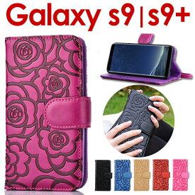 Galaxy S9 ケース 手帳型 GaraxyS9 ケース 送料無料 手帳 ギャラクシー s9 ケースSC-02K SCV38 GalaxyS9+ SC-03K SCV39 カバー Galaxy S9+ ケース galaxyS9ケース カバー手帳型 カメリア 花柄 ギャラクシーS9ケース ギャラクシーS9カバー s9+ カバー S9ケース