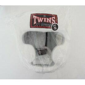 新 TWINS ツインズ 本革製 キックボクシング ヘッドギア ヘッドガード 白 Sサイズ
