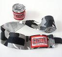 【送料無料】迷彩カモフラ バンテージ グレー 2個セット 非伸縮性 (100%綿) キックボクシング・空手用 GLOBAL SPORTS グローバルスポーツ