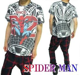 スパイダーマン グッズ Tシャツ メンズ キャラクター 半袖 ミニットマース