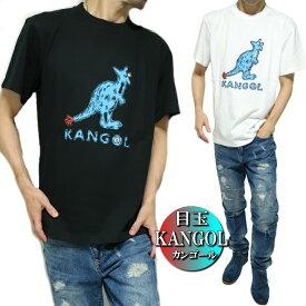 カンゴール/KANGOL Tシャツ メンズ 目玉/カンガルー 半袖 ブラック/ホワイト M-XL 2020