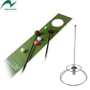 グラウンドゴルフニチヨー NICHIYO グラウンドゴルフ ホールインワン自宅練習マット&ホールポスト セット限定品 グラウンドゴルフ用品 グランドゴルフ用品
