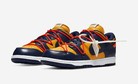 OFF-WHITE × NIKE DUNK LOW (GOLD)