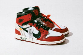 NIKE OFF WHITE×AIR JORDAN 1