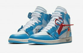 "VIRGIL ABLOH OFF-WHITE x NIKE AIR JORDAN 1 THE10 ""POWDER BLUE"" ""UNC"""