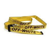 OFF-WHITEオフホワイトINDUSTRIALBELTイエローベルトOMRB012E196470026000イタリア正規品新品