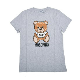 MOSCHINO モスキーノ TEEN グレーTOYテディ半袖Tシャツ イタリア正規品 HPM01I 新品