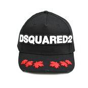 Dsquared2ディースクエアードブラックキャップ帽子BCM0235M002イタリア正規品新品