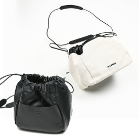 JIL SANDER ジルサンダー ドローストリングバッグ 巾着バッグ 鞄 イタリア正規品JSPQ850407 WQB73010N 新品