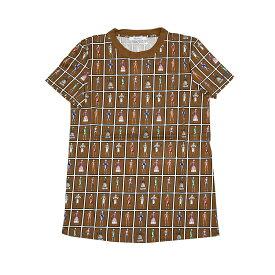 Max Mara マックスマーラ TOKIO ブラウン半袖Tシャツ イタリア正規品 新品
