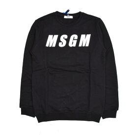 MSGM エムエスジーエム キッズ ブラックスウェット イタリア正規品 新品 016504