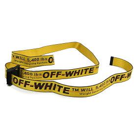 OFF-WHITE オフホワイト INDUSTRIAL BELT イエローベルト OMRB012E20FAB0011810 イタリア正規品 新品