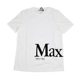 S Max Mara エスマックスマーラ ANIMA ホワイト半袖Tシャツ イタリア正規品 新品