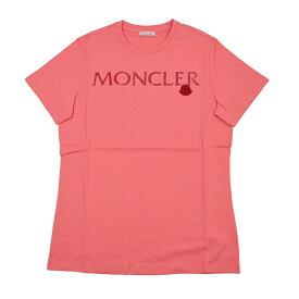 MONCLER モンクレール ピンク半袖Tシャツ レディース イタリア正規品 8091550 V8094 新品