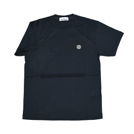 STONE ISLAND ストーンアイランド ネイビー半袖Tシャツ メンズ 701524113 イタリア正規品 新品