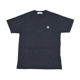 STONE ISLAND ストーンアイランド ネイビー半袖Tシャツ メンズ イタリア正規品 721524113 新品