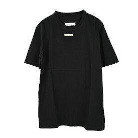MAISON MARGIELA メゾン マルジェラ ブラック半袖Tシャツ S50GC0658 S20079 900 イタリア正規品 新品