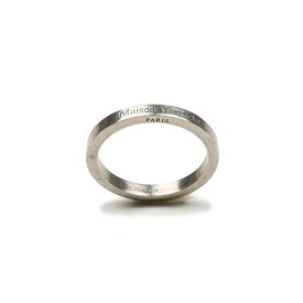 MAISON MARGIELA メゾン マルジェラ ロゴシルバーリング 指輪 SM1UQ0036 S12894 951 イタリア正規品 新品