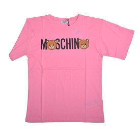 MOSCHINO モスキーノ TEEN ピンクテディ半袖Tシャツ イタリア正規品 HMM029 新品