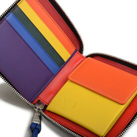 LOEWE ロエベ ラウンドジップ二つ折り財布 イタリア正規品 199 54 M88 9991 新品