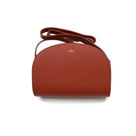 A.P.C. アーペーセー ハーフムーンバッグ イタリア正規品 新品 鞄 PXBLH-F61048 EAF