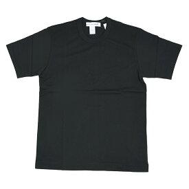 COMME des GARCONS SHIRT コムデギャルソン シャツ ブラック半袖Tシャツ イタリア正規品 新品