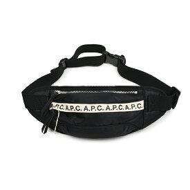 A.P.C. アーペーセー LZZ ナイロン ボディバッグ ウエストポーチ イタリア正規品 H62097 新品 鞄