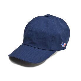 MAISON KITSUNE' PARIS メゾン キツネ ネイビーキャップ 帽子 AU06100AT7100 イタリア正規品 新品 メンズ