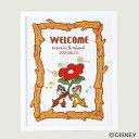 刺しゅうキット Disney(ディズニー) ウェルカムボード No.7525 チップ&デール オリムパス クロスステッチ 結婚式 ウ…