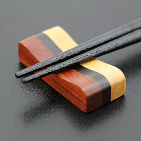 箸置き ひさご 黒線 木製 箸おき はし置き はしおき カトラリーレスト お箸置き
